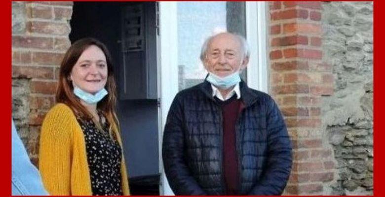 Les deux secrétaires du PCF en Mayenne