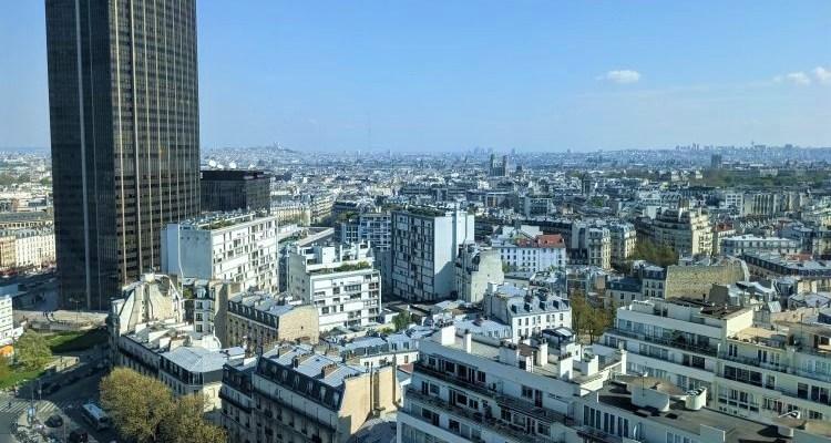 La Tour Montparnasse vue du bâtiment Heron à Päris