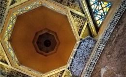 Le plafond de l'église de Domfront