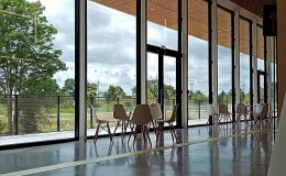 Espace Mayenne : détail du hall principal
