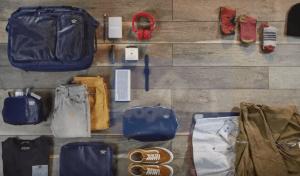Des conseils pour le rangements de votre matériel de voyage. Converge et l