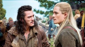 Legolas and Bard Chatting