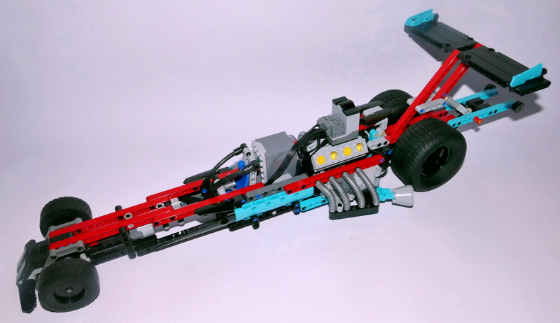 42050 B     Supercharged Dragster     RC     Muuss Lego Hi