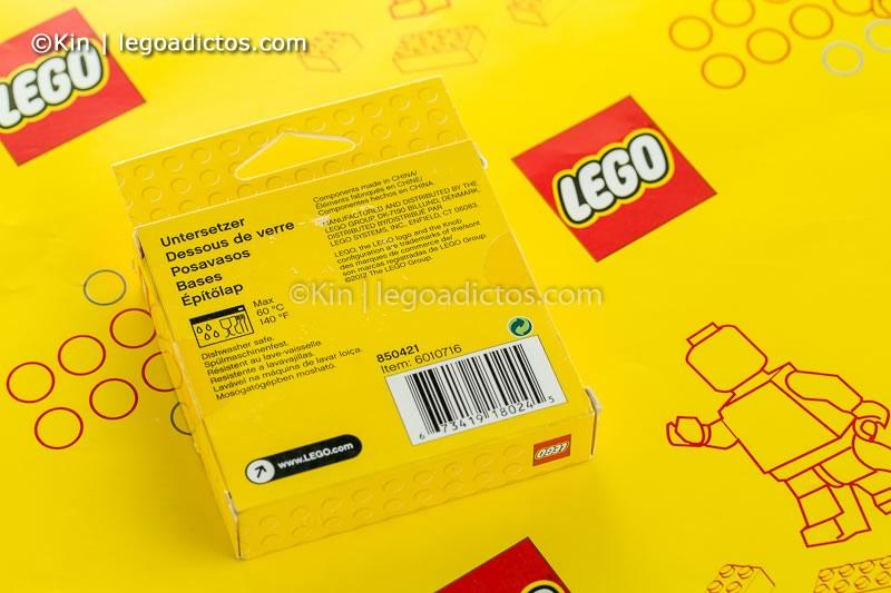 review posavasos de lego-9742
