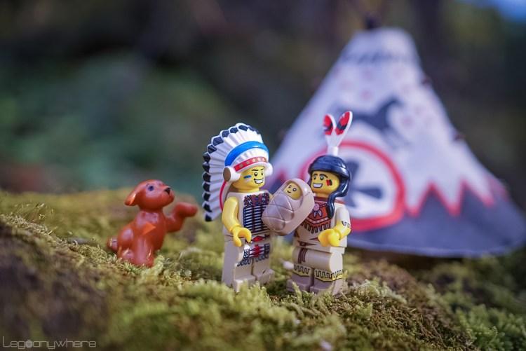 レゴ・原住民のミニフィグ