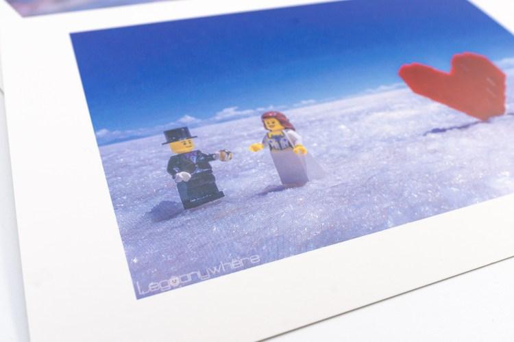 オモ写を使ったポストカード
