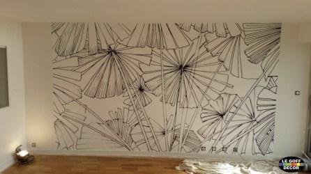decoration papier peint panoramique concarneau