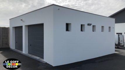 double garage plozevet