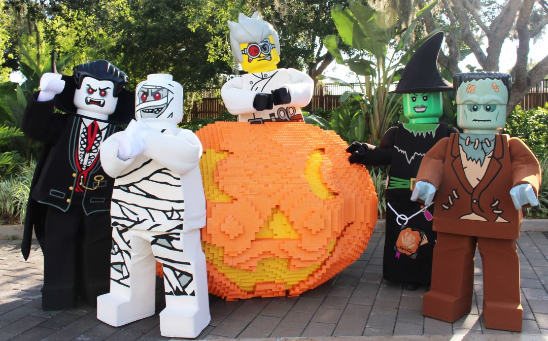 LEGOLAND Florida Brick or Treat 2015 with NEW nightly fireworks!