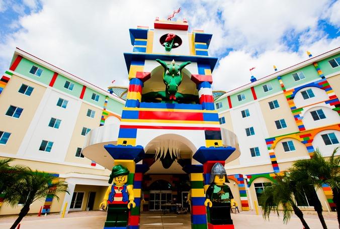 LEGOLAND FLORIDA HOTEL NEARS COMPLETION