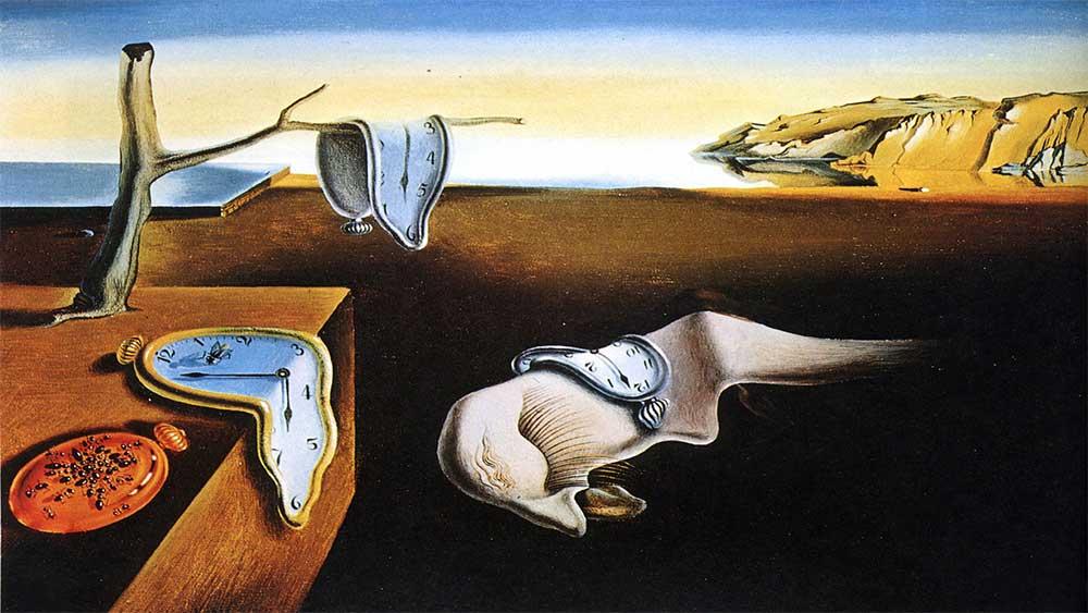 "Salvador Dali ""Persistence of Memory"