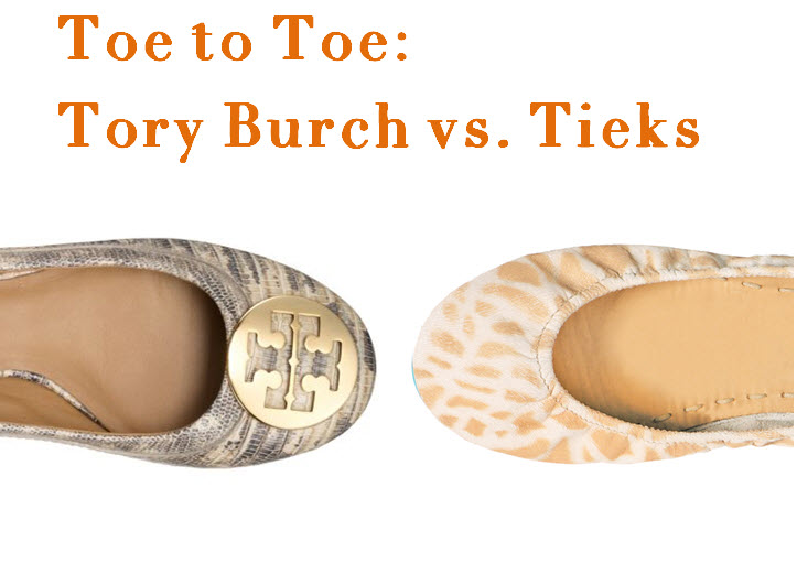 bde64f8feb2a Toe to Toe  Tieks versus Tory Burch Flats