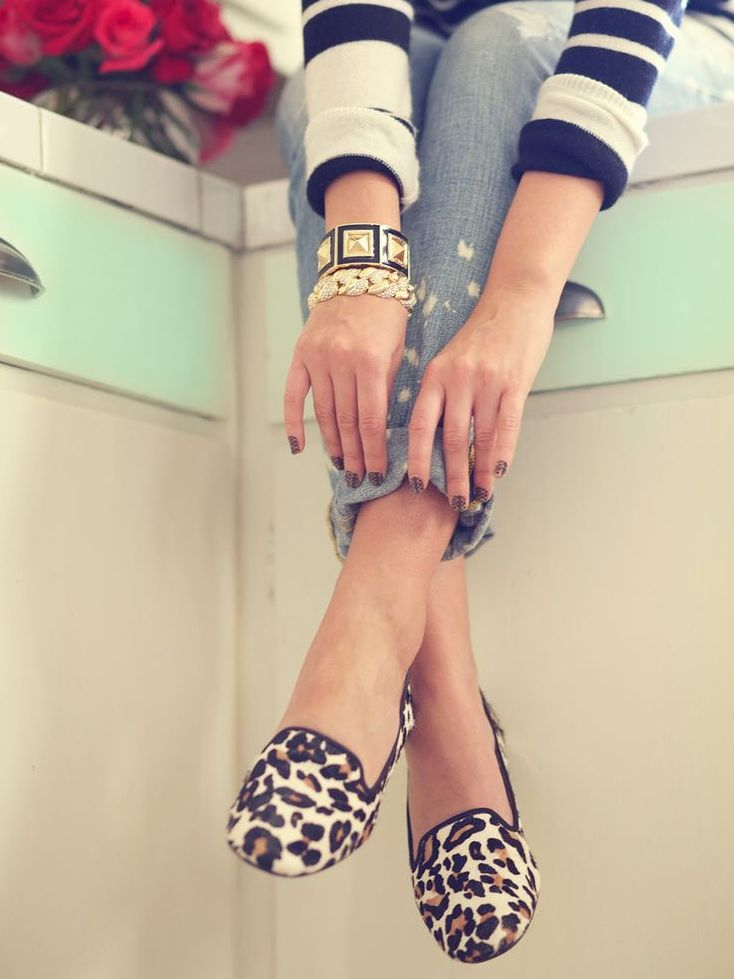 leopard-slippers