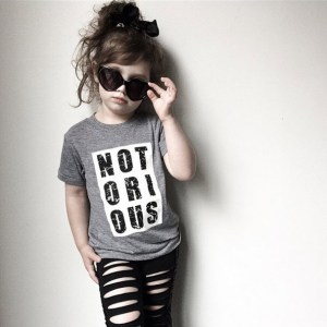 Trilogy Design Co. - Notorious Kids Tee Shirt