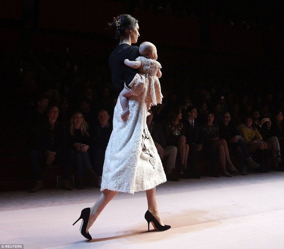 Dolce & Gabbana Baby on Runway