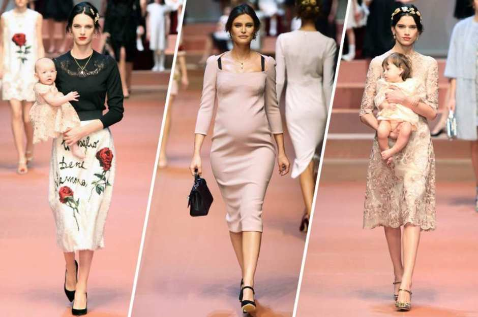 Dolce & Gabbana Momma's on Runway