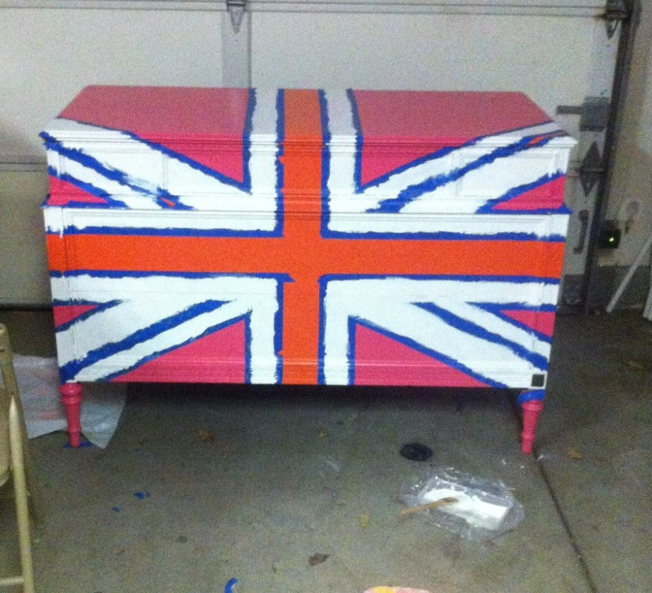 union jack second coat