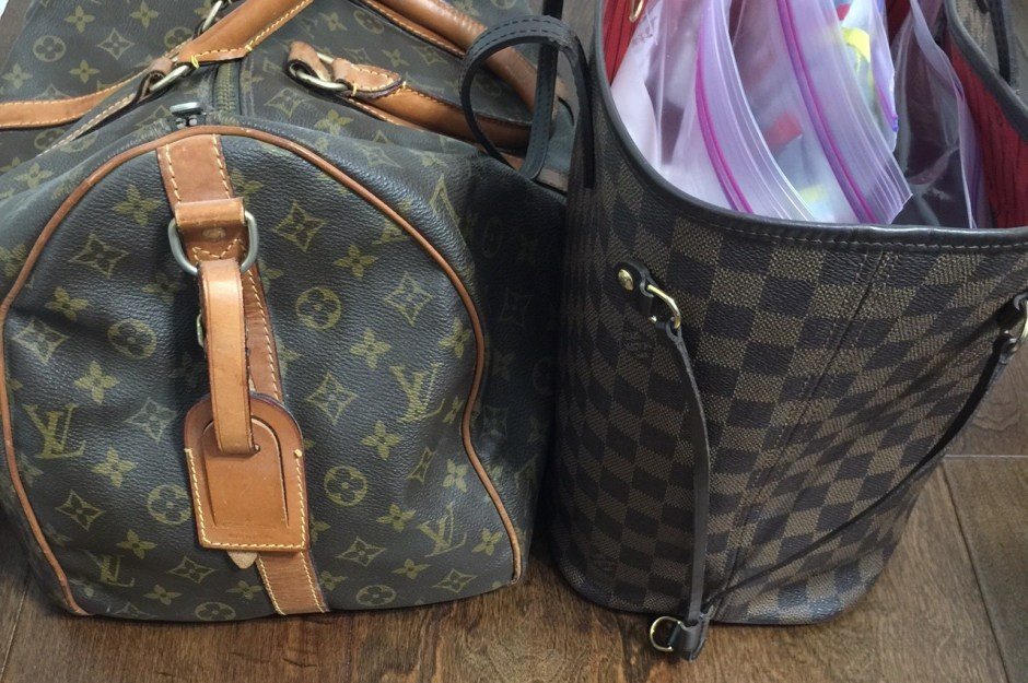 pack your louis vuitton for flying