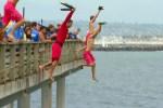 junior guard pier jump