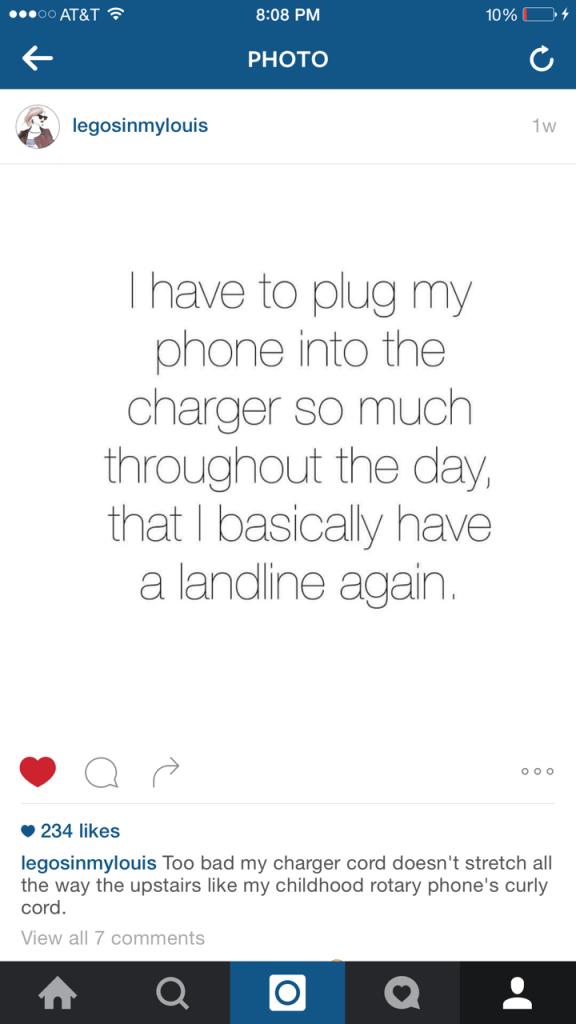 i basically have a landline
