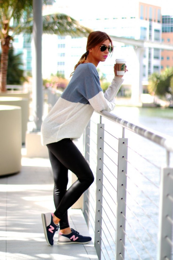 new balance sporty outfit