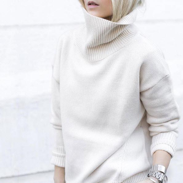 white-cowl-neck-sweater