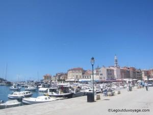 Port de Rovinj - Croatie