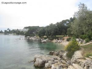 Crique sur la Baie Lone à Rovinj - Croatie