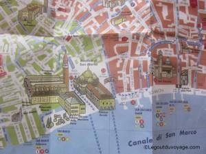 Plan de la ville de Venise