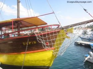 Lim Fjord en bateau