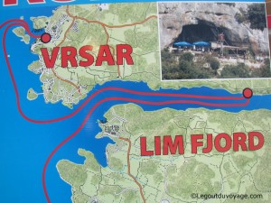 Où se situe Lim Fjord ?