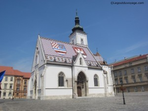 Eglise Saint Mark - Zagreb