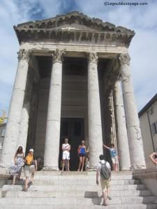 Temple d'Auguste - Pula