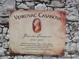 Giacomo Casanova a visité Vrsar en 1743 et 1744