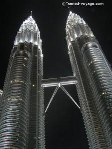 Tours Petronas à Kuala lumpur