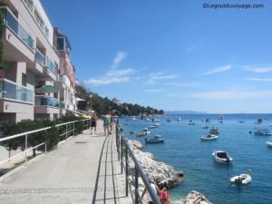 Balade bord de mer - Rabac en Croatie