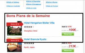 HotelClub.fr - Bons Plans de la Semaine