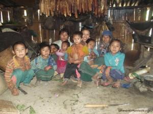 Ma famille d'accueil pour la nuit - Laos