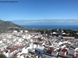 Vue depuis le Mirador de la Sierra – Mijas