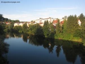 Rivière Krka – Novo Mesto - Dolenjska