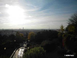 Panorparc : Le parc de Belleville offre un des plus beaux panoramas de Paris
