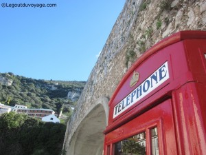 Cabine téléphonique Gibraltar