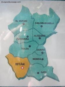 Villages Sierra de las Nieves - Province de Malaga