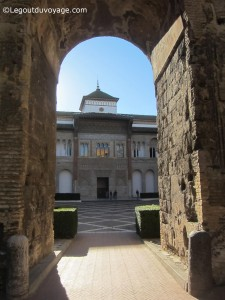 Patio de la Monteira - Alcazar de Séville