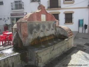 Fontaine Los Chorros - Ojen