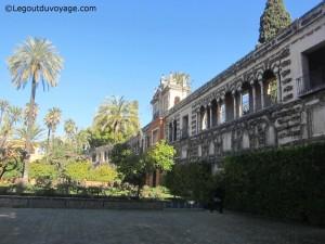 Galerie du grotesque - Alcazar de Séville