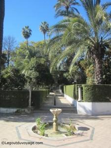 Jardin de las Damas - Les jardins de l'Alcazar