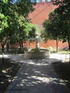 Patio de la Alcubilla - Les jardins de l'Alcazar