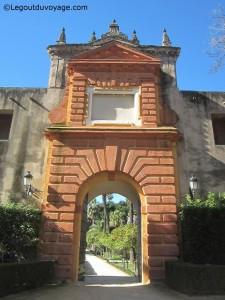 Puerta del Privilegio - Les jardins de l'Alcazar