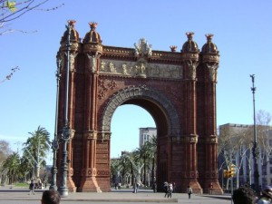 Vivre à Barcelone - Arc de Triomphe
